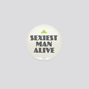 Sexiest Man Alive Mini Button