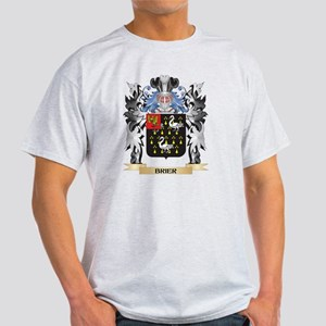 Brier Coat of Arms - Family Crest T-Shirt