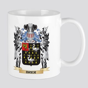 Brier Coat of Arms - Family Crest Mugs