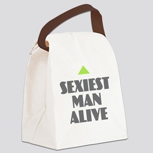 Sexiest Man Alive Canvas Lunch Bag