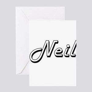 Neil Classic Style Name Greeting Cards