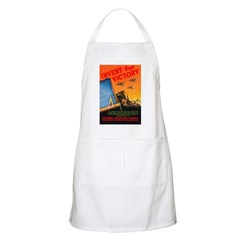 Invent for Victory BBQ Apron