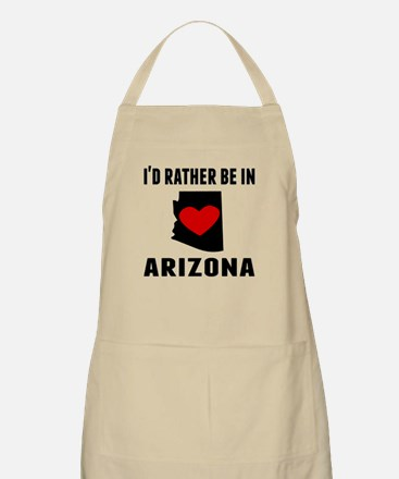 Id Rather Be In Arizona Apron
