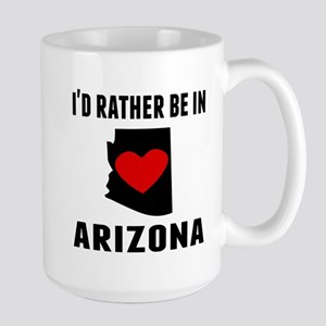 Id Rather Be In Arizona Mugs
