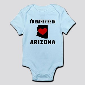 Id Rather Be In Arizona Body Suit