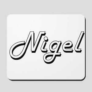 Nigel Classic Style Name Mousepad