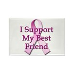 I Support My Best Friend Rectangle Magnet (10 pack