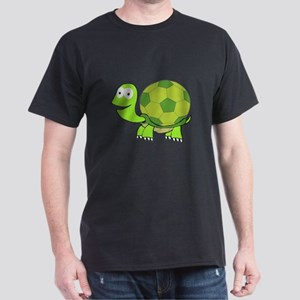 Soccer Turtle Dark T-Shirt
