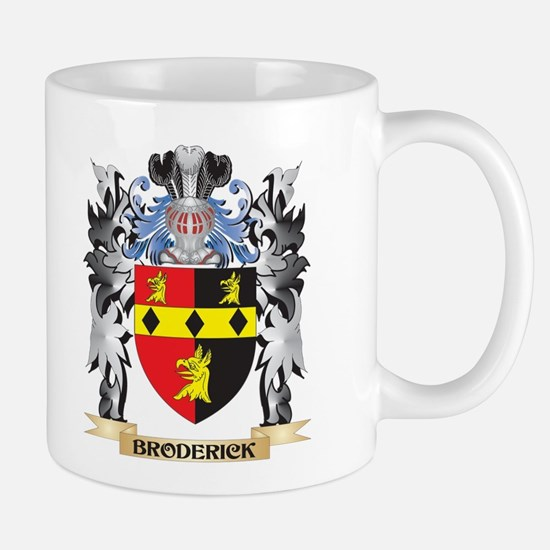 Broderick Coat of Arms - Family Crest Mugs