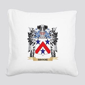 Brodie Coat of Arms - Family Square Canvas Pillow