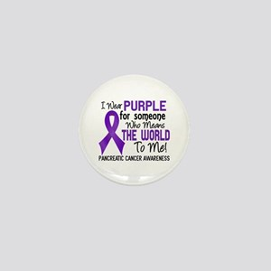 Pancreatic Cancer MeansWorldToMe2 Mini Button
