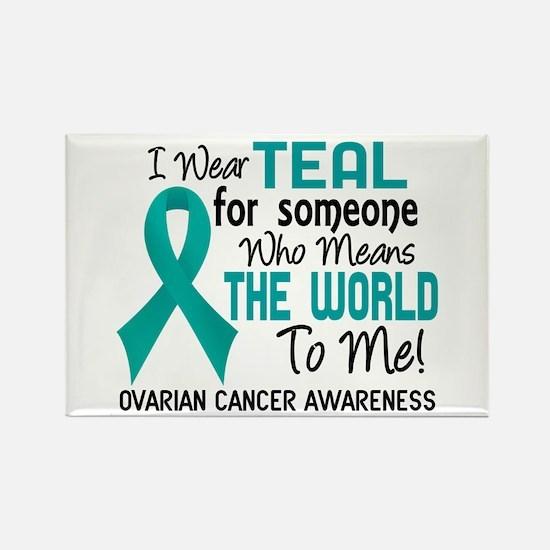 Ovarian Cancer MeansWorldToMe2 Rectangle Magnet
