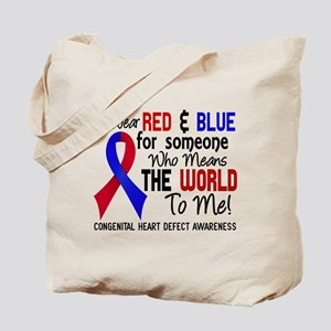Congenital Heart Defect MeansWorldToMe2 Tote Bag