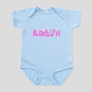 Kailyn Flower Design Body Suit