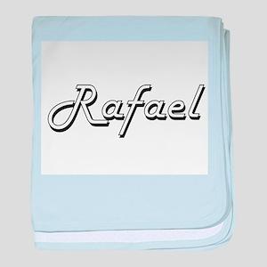 Rafael Classic Style Name baby blanket