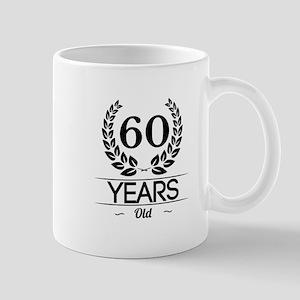 60 Years Old Mugs