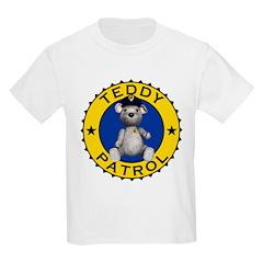 Teddy Patrol Kids T-Shirt Light Colored