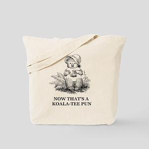 Quality Pun Tote Bag