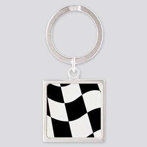 Checkered Flag Keychains