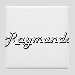 Raymundo Classic Style Name Tile Coaster