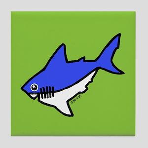Shark Tile Coaster