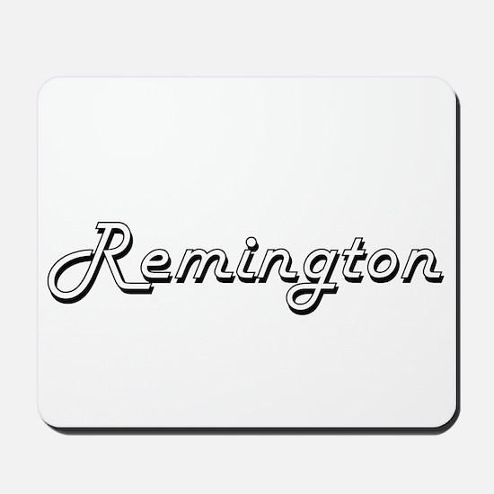 Remington Classic Style Name Mousepad