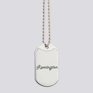 Remington Classic Style Name Dog Tags