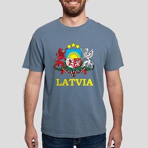 latvia_coa_2Bk T-Shirt