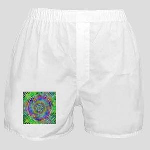 Hypnotic Star Burst Fractal Boxer Shorts