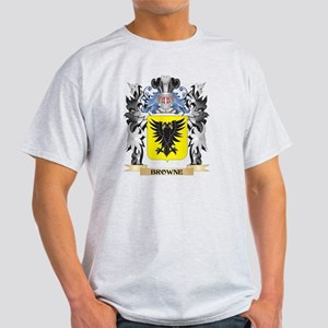 Browne Coat of Arms - Family Cr T-Shirt