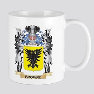 Browne Coat of Arms - Family Crest Mugs