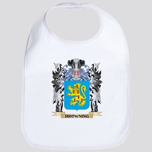 Browning Coat of Arms - Family Crest Bib