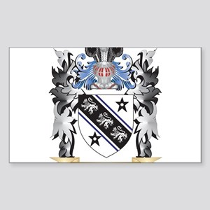 Brown Coat of Arms - Family Crest Sticker