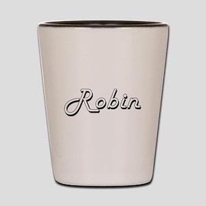 Robin Classic Style Name Shot Glass