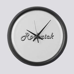 Roderick Classic Style Name Large Wall Clock