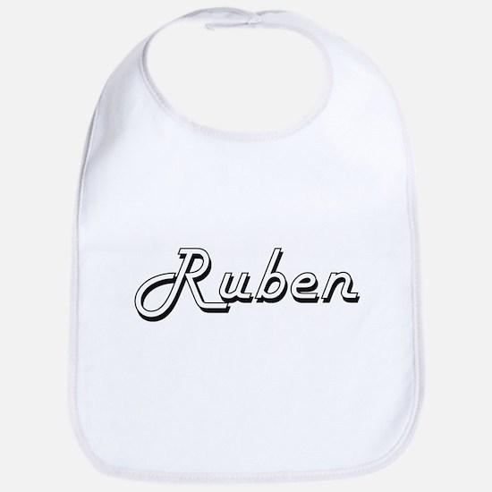Ruben Classic Style Name Bib