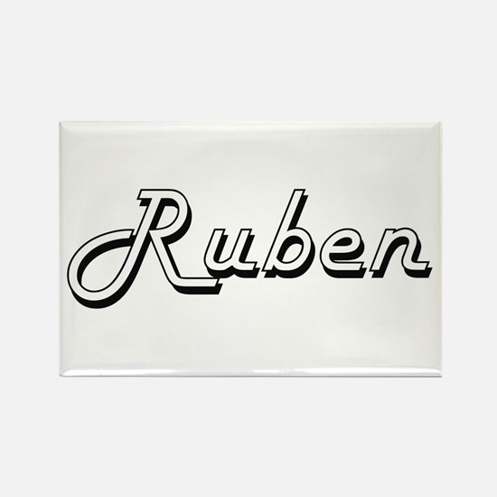 Ruben Classic Style Name Magnets