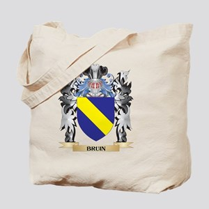 Bruin Coat of Arms - Family Crest Tote Bag