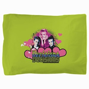90210 Decisions Decisions Pillow Sham
