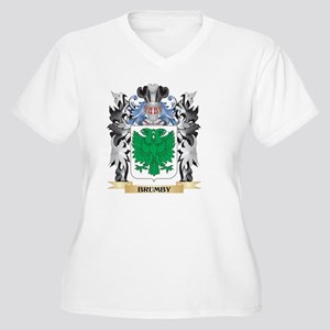 Brumby Coat of Arms - Family Cre Plus Size T-Shirt