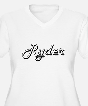 Ryder Classic Style Name Plus Size T-Shirt