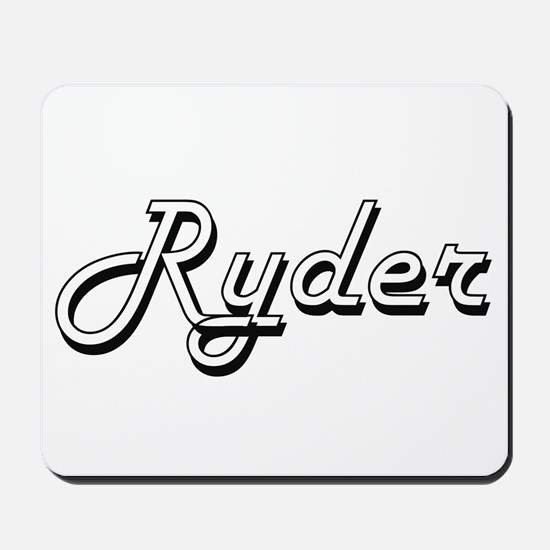 Ryder Classic Style Name Mousepad
