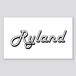 Ryland Classic Style Name Sticker