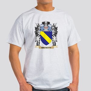 Brunetti Coat of Arms - Family Crest T-Shirt