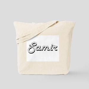 Samir Classic Style Name Tote Bag