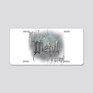 Metal 5 Aluminum License Plate