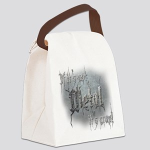 Metal 5 Canvas Lunch Bag