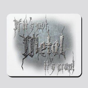 Metal 5 Mousepad