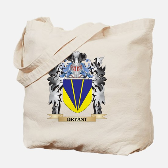 Bryant Coat of Arms - Family Crest Tote Bag