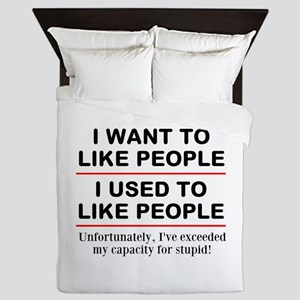 People Queen Duvet
